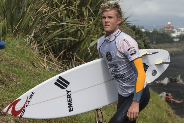 Harry Bryant Equal 3rd at NZ Surf Festival